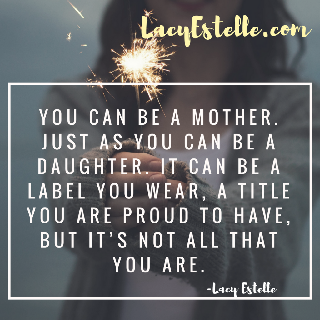 self questionnaire after baby, mother daughter and identity