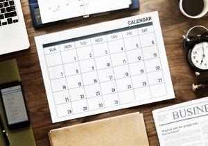 google calendar desk calendar