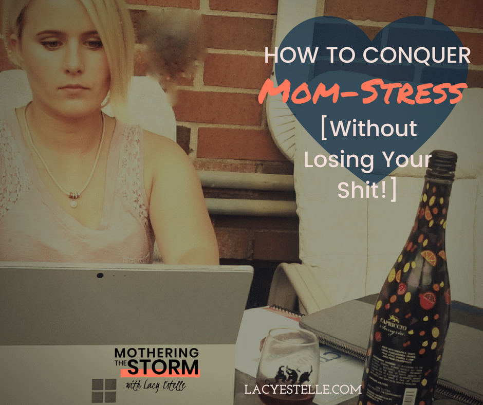 facebook conquer mom-stress, conquer goals, keep going