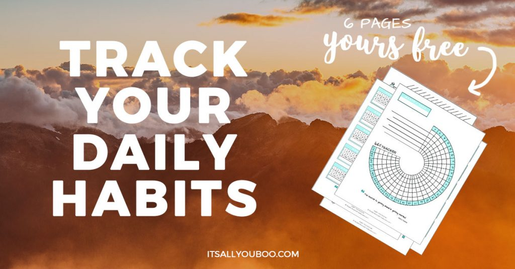 Track your habits, change your life, mom-stress