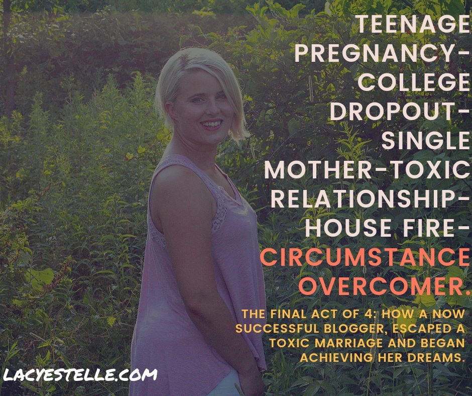 circumstance overcomer, act 4 Lacy Estelle, Mothering the storm, Toxic relationship, ADHD in women.