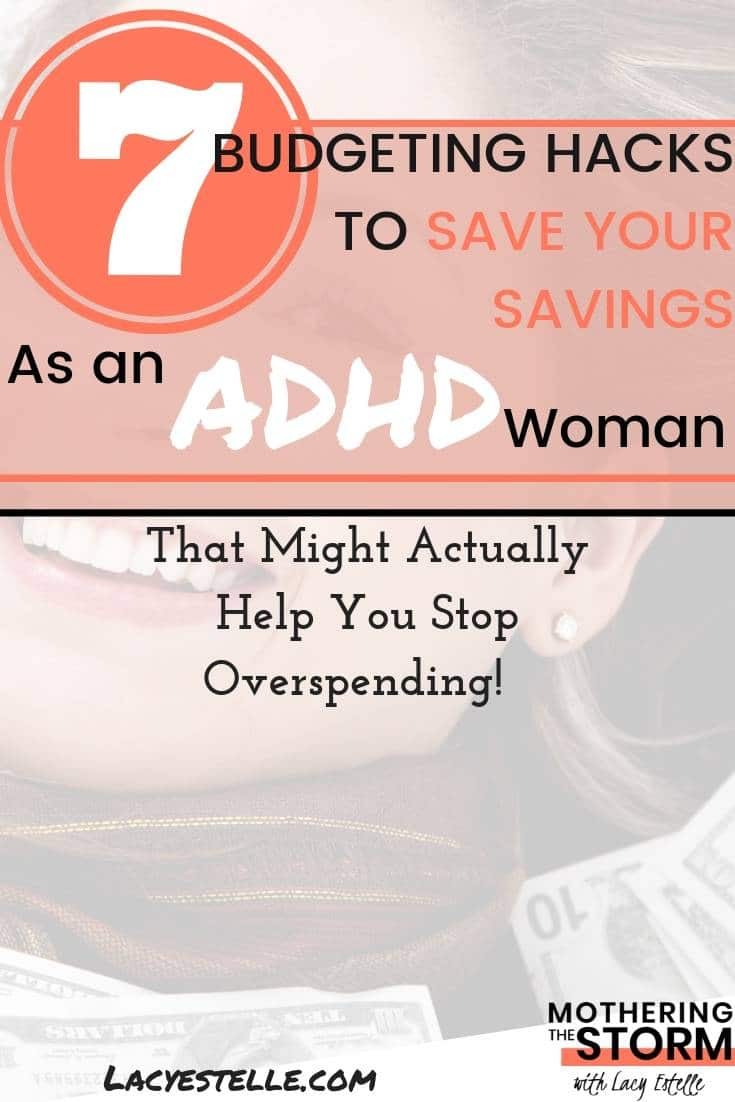 budgeting as an ADHD woman, How to stop overspending when you have ADHD.