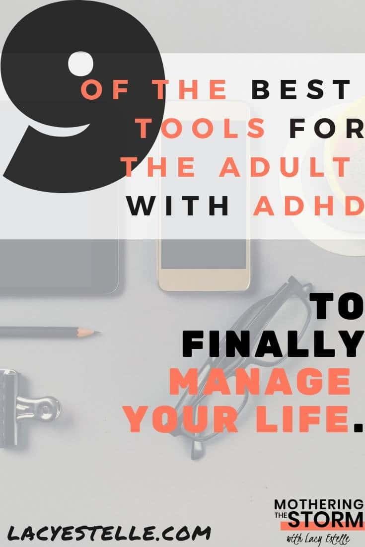 9 of the Best tools for adults with ADHD. ADHD Gadgets to make your life easier. Tools I use everyday for my Adult ADHD.