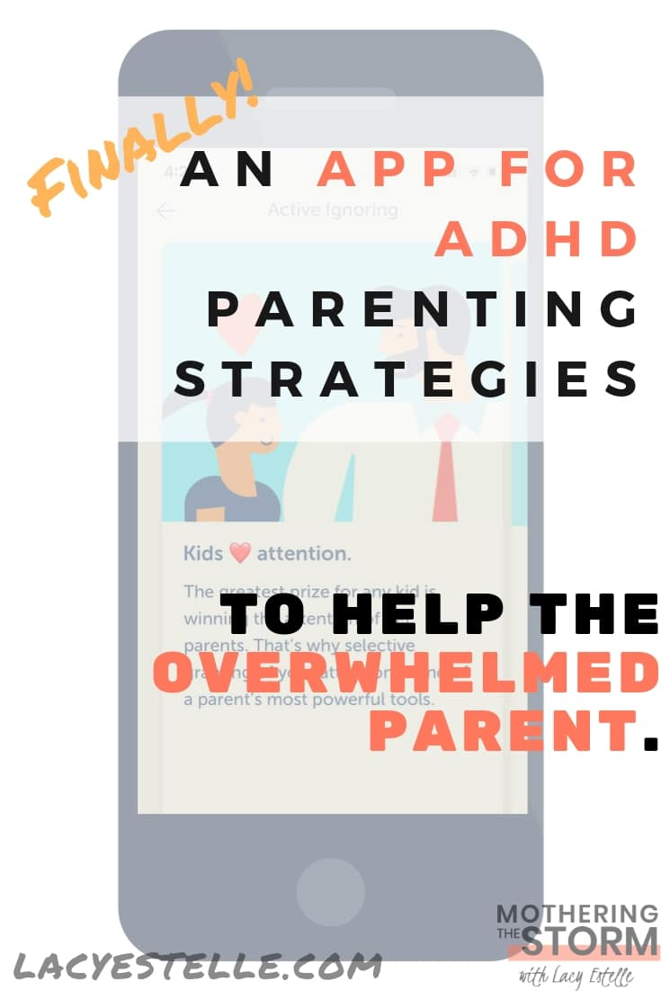 ADHD Parenting strategies app, Bright parenting App review, iPhone apps for parenting