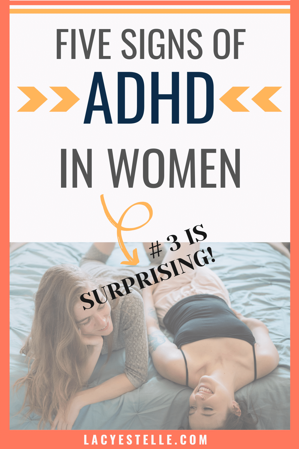 Five signs of ADHD in women that you probably didn't expect. I never knew these were all signs of ADHD in women.