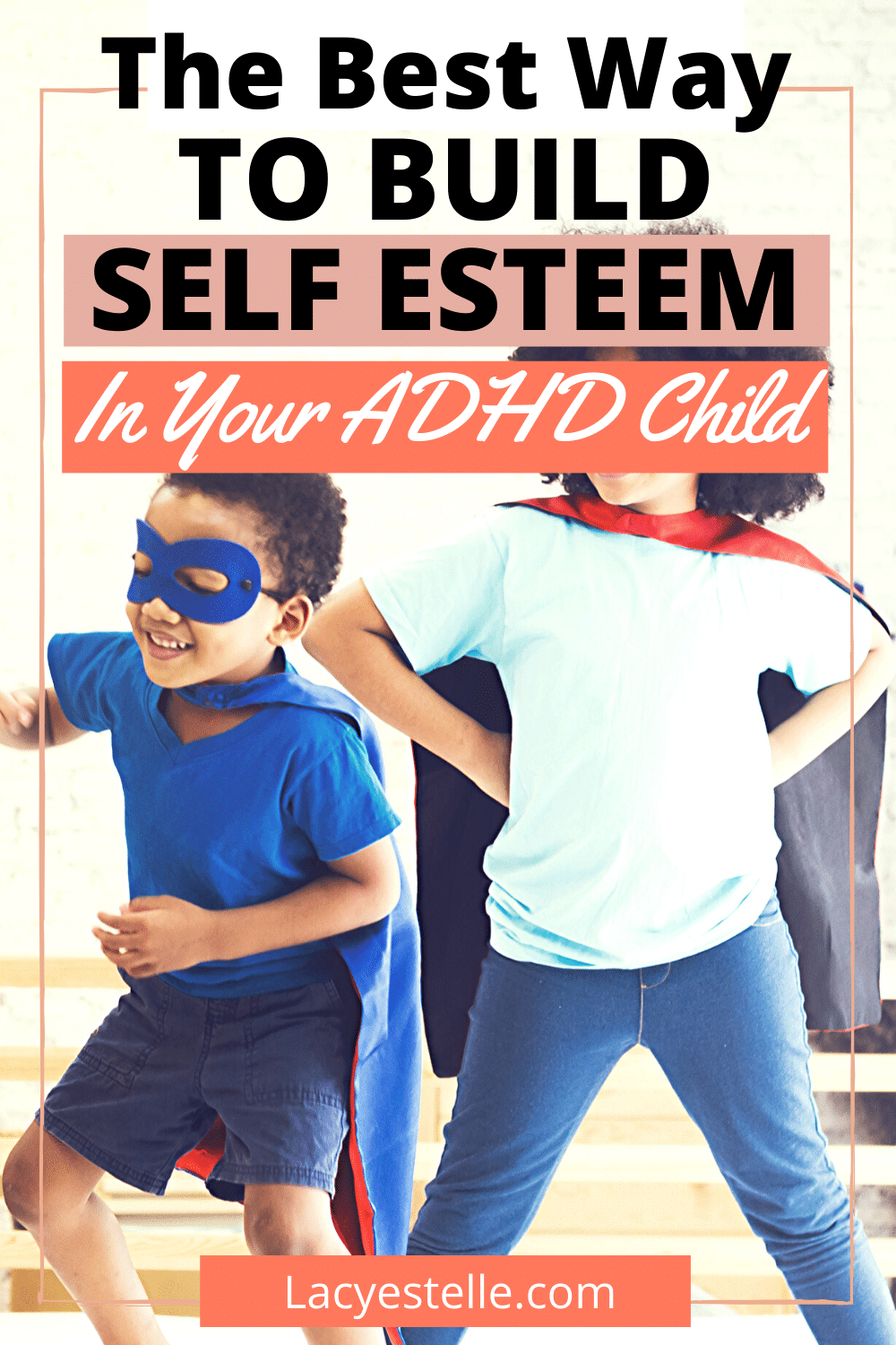 One of my favorite ways to build self esteem in an ADHD child. Adhd children struggle with self esteem more than neurotypical children.