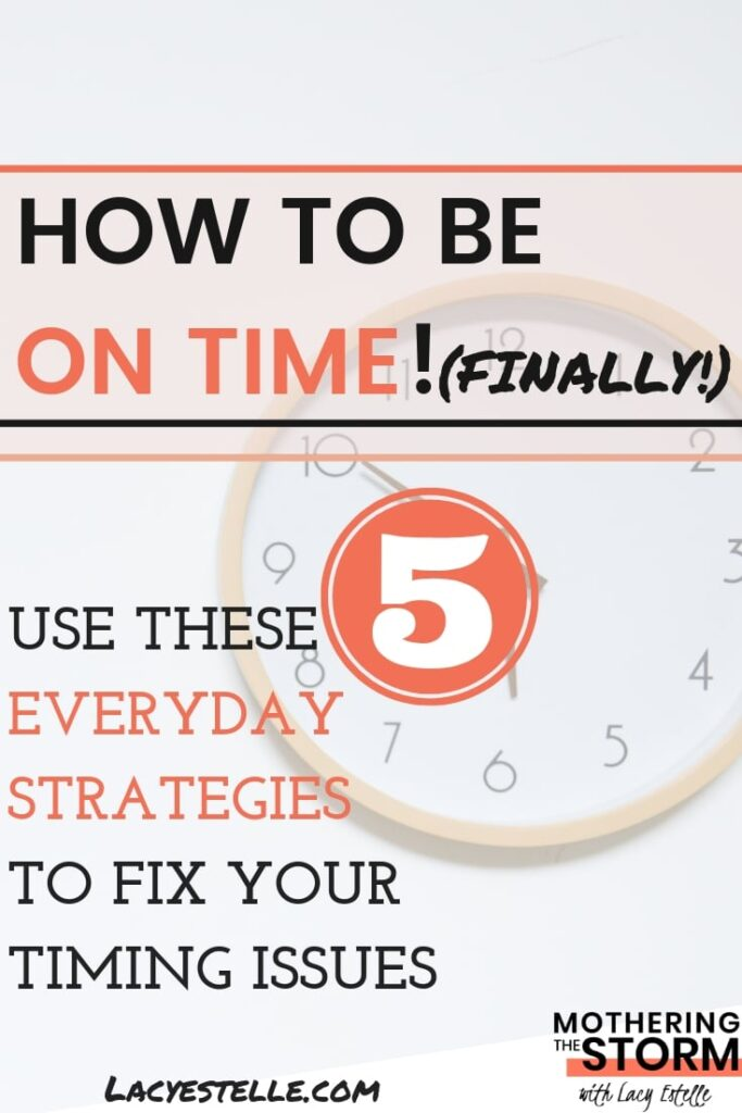 ways to be a successful adult with adhd, how to be on time
